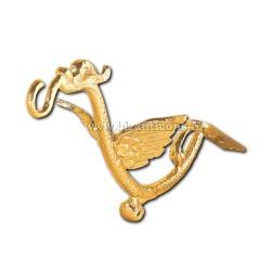 Suport candela - bronz aurit - 25 cm X101-825 / 89-585
