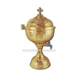 Vas aghiasma 6 litri - aurit X104-862 / 91-613