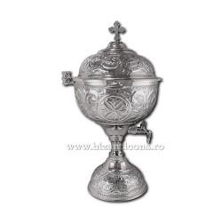 VAS aghiasma 6 litri nichelat - X104-863 / 91-612