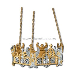 Horos pentr candela No1 - aurit si argintat X58-501 / 47-303