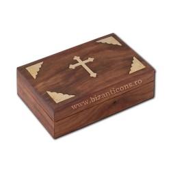 CUTIE altar lemn + cruce metal V9609
