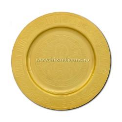 Talger - disc aurit pentru SF AGNET - Maica Domnului 15cm