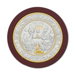 12-22 icoana metal rotunda - Cina 18cm 48/bax
