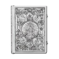 Евангелие, серебряные, массивные, с патиной