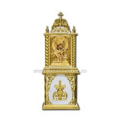 Axionita lemn alb aurit - mica Z 182-50