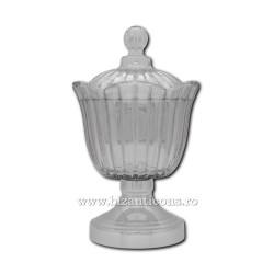 The ship anaphora glass base - silver