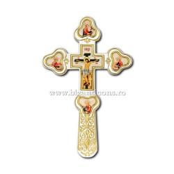 Кросс Бен. Иконы по эмали - установлено золотое изваяние, и argintata AT 123-82
