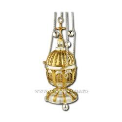 Cadelnita traforata - aurita si argintata AT 107-80