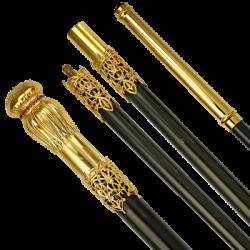 Μπαστούνι-χρυσός που καλύπτεται - lucent κυβικό zirconia ΣΤΟ 135-22