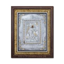 Icoana argintata - Sfantul Ioan Botezatorul 36x44cm K700-121