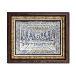 Icoana argintata - Cina cea de Taina 36x44cm K700-200