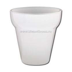Ruby glass No. 1, WHITE 7,5x7,7cm-6/set, 48/box