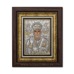 The ICON of the frame Ag925 of ST. Nicholas 27x32 K701-009