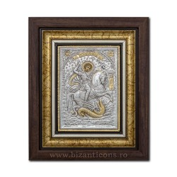 The ICON of the frame Ag925 ST. George's 27x32 K701-010