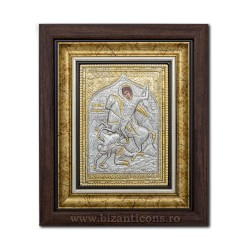 The ICON of the frame Ag925 of ST. Demetrius 27x32 K701-014
