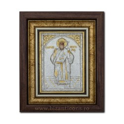 The ICON of the frame Ag925 of ST. Nectarios 27x32 K701-114
