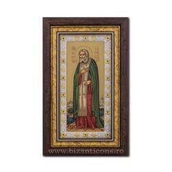 ИКОНА Ag925 Святого Серафима саровского 20x33 EK405-149KZ