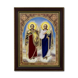 The icon of the garment - frame 30x40 Sf Mihail si Gavril IT34-033
