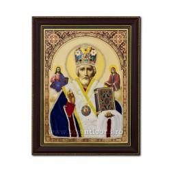 Icoana vesmant - rama 30x40 Sf Nicolae IT34-009