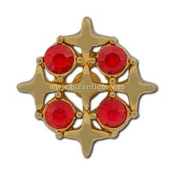 6-208 пропуск на 5 Крестиков + камни 12/комплект