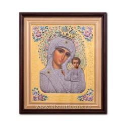 ICON litho, embossed, framed 32x37, MD Kazan No 27 SFR510-004