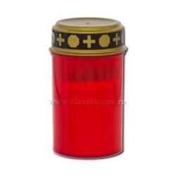 17-40R λαμπτήρων με μπαταρία ( δεν περιλαμβάνεται μπαταρία) - κόκκινο - 7x12cm 144/κιβώτιο