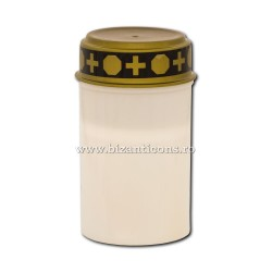 17-40A candela cu baterii ( nu include baterii ) - alba - 7x12cm 144/bax