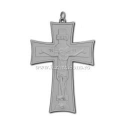 100-10Ag Cruce pectorala Argintie - 7,5x11 100/bax