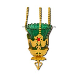 120-53Au лампа цепочка цветок каменный 15/коробка