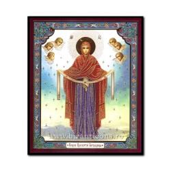 1852-194 Икона русской плиты мдф, 10x12 Acoperamantul MD
