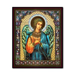 1856-172 the Icon of the Russian fiberboard 15x18 Holy Angel