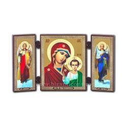 181-904 Διάσπαση ξύλο, 13x7,3 MD Γραφεία της βυζαντινής 11buc/κιβώτιο