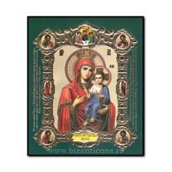 Icoana pe lemn - Maica Domnului - Ivirea 15x18 cm
