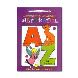 71-626 Color and learn the alphabet