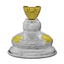 100-94B-С крестом БАЗЫ установлено золотое изваяние, и argintata 30/коробка