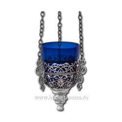 120-56AgP candela lant argintie + patina - trafor 40/bax