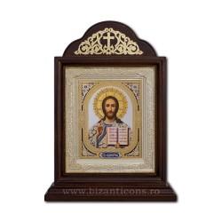 Икона Ковчег деревянный 18x38 Спасителя - Казань ICR20-510