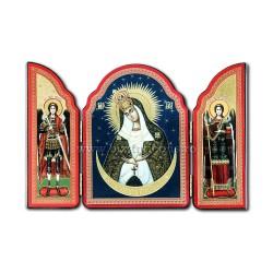1815-067 SPLIT wood, 10X14, MD Ostrobramskaya 100/box