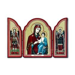 1815-465 SPLIT wood, 10X14, MD, with Jesus, 100/box