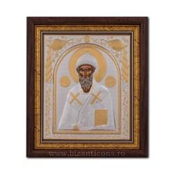 The ICON of the frame 29x31 of St. Spyridon EP515-012