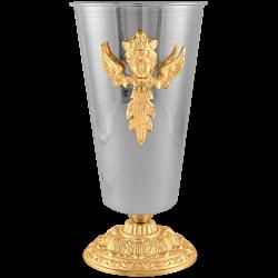 VAZA aliaj aurita si argintata - X107-898