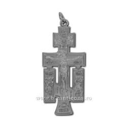 6-140Ag cruce metal argintie - perete 12cm 100/bax