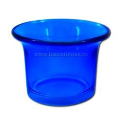 39-2Ab стаканы, светильник - маленький Синий 210/коробка