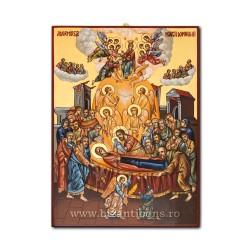 Икона, написанная 46x70 - Успение пресвятой Богородицы ICP75-999