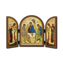 18-108-SPLIT wood, 25x16 Holy Trinity, 6/carton