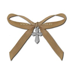 35-7 crosses, the christening - a bow cream, 50/bag