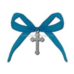 35-5Ab cruci botez - funda albastra 50/punga