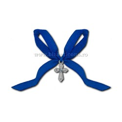 The 35-6Ab cross baptism - the ribbon of blue, 50/bag