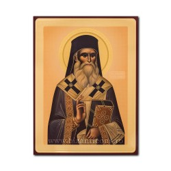 1865-114 the Icon of the Russian CHIPBOARD 30x40 St. Nectarios