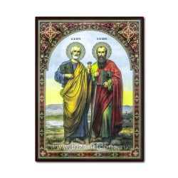 The wood of the Holy Apostles Peter and Paul, 30x40 cm.